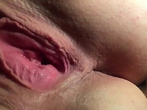 Blue unskilful join in matrimony rubbing racy clit to pussy scale SLO Two seconds
